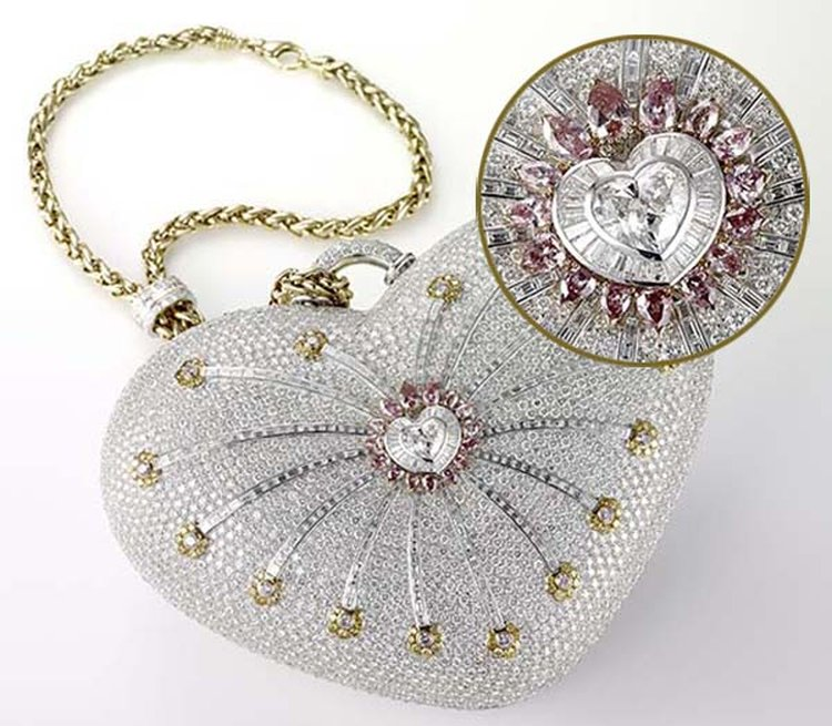 Glistening With 4,517 Diamonds, World's Most Valuable Handbag Is Up for Grabs