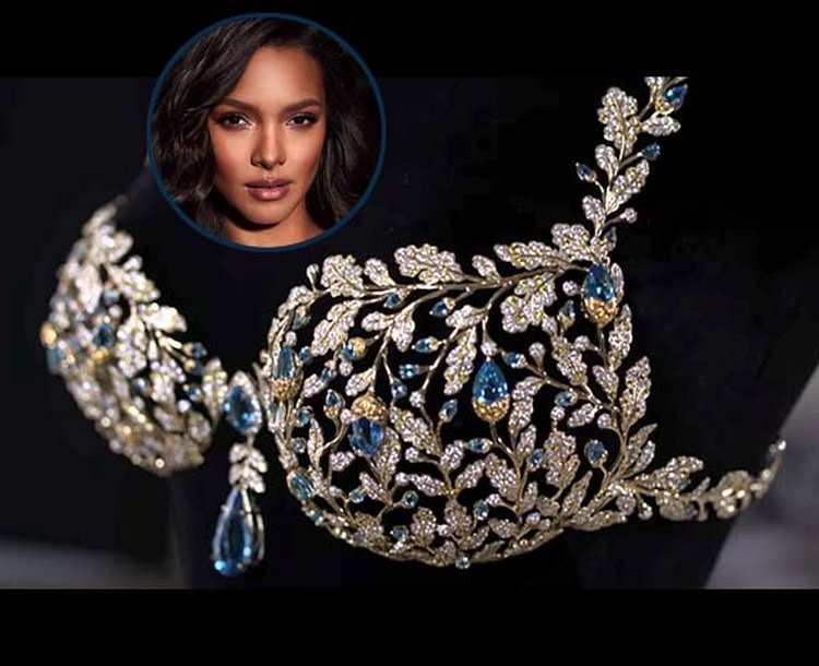 $2 Million 'Champagne Nights Fantasy Bra' Glitters With 600 Carats of Diamonds, Sapphires and Topaz