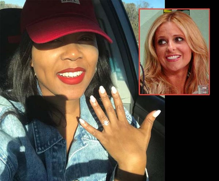Newly Engaged Woman Gets Big Surprise After Accidentally Texting Ring Selfie to Sarah Michelle Gellar