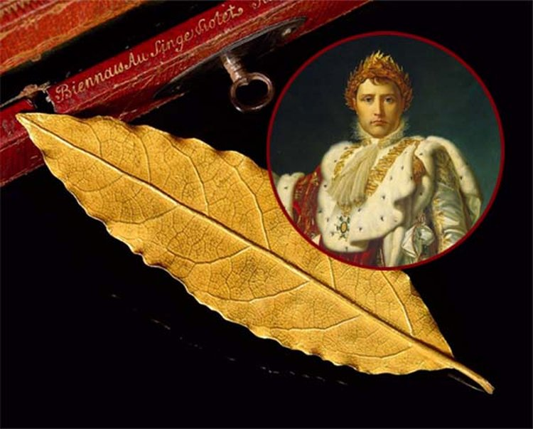 Golden Laurel Leaf Trimmed From Napoleon's Coronation Crown Sells at Auction for $730,000