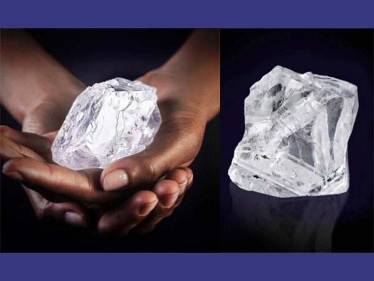 Graff's $53M Purchase Reunites 1,109-Carat Lesedi La Rona With Her 373-Carat Sibling