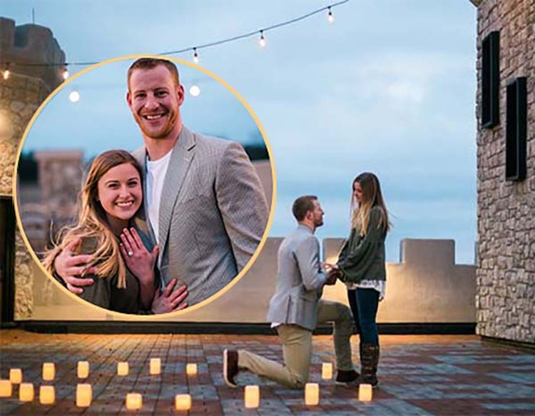 'Maddie and I Both Got Us a Ring,' Exclaims Newly Engaged Eagles QB Carson Wentz