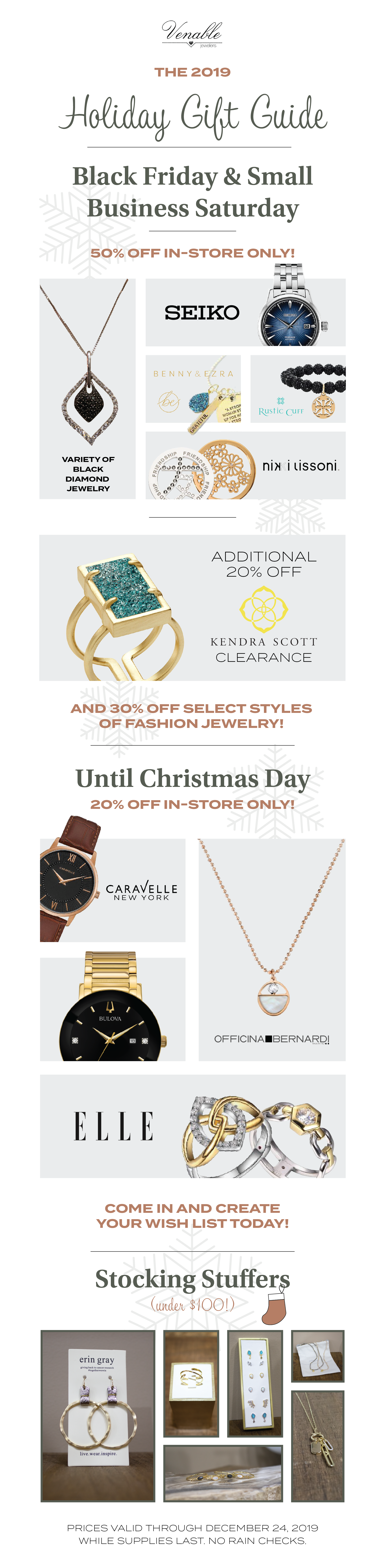 Venable Holiday Gift Guide